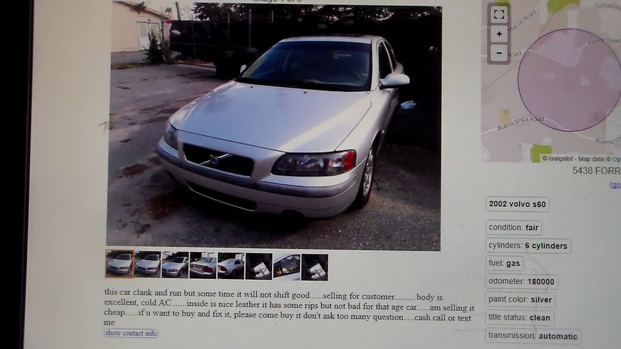What kind of cheap VOLVO\'S do you find on Craigslist? - YouTube
