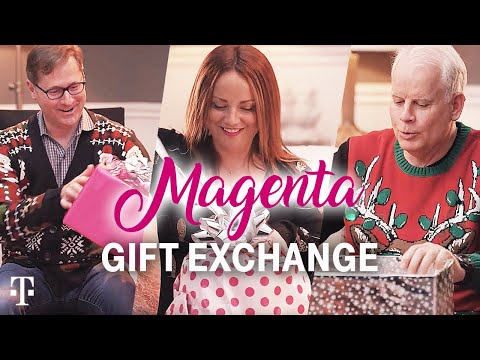 CEO John Legere Hosts Magenta Elephant Gift Exchange | T-Mobile