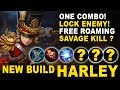 New Best Build HARLEY & Savage Kill ? - Mobile Legends