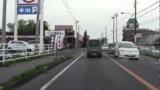 【車載動画】  国道126号 旭市市街地~八日市場付近まで 【HD】
