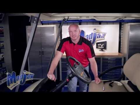 Acrylic Console Club Car® Precedent®| How To Install Video | Madjax® Golf Cart Accessories
