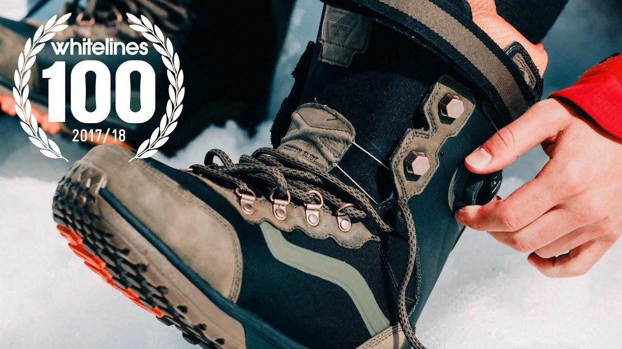 9a3bd6ea821 BEST SNOWBOARD BOOTS OF 2017/18 - VANS - WHITELINES 100