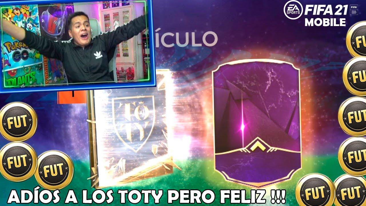 """DESPIDO LOS TOTY """"MILLONARIO"""" en FIFA MOBILE *Pack Opening*"""