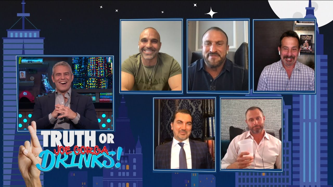 The RHONJ Househusbands Play a Drinking Game | WWHL