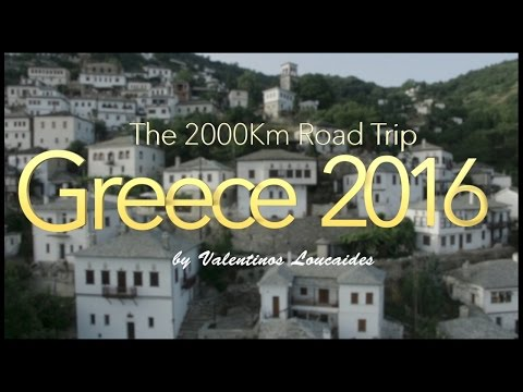 2000 Km Road Trip to Greece in 10 Days
