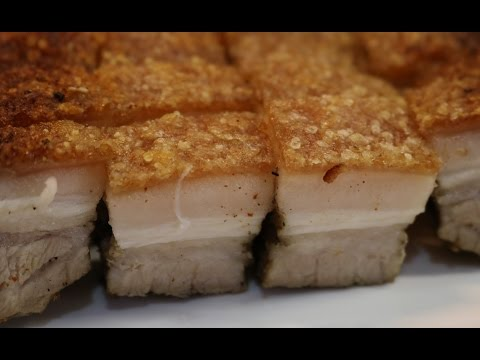 THE SECRET TO CRUNCHY CRISPY PORK BELLY REVEALED! (CHINESE STYLE RECIPE)