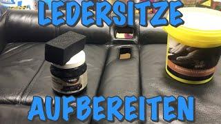 LEDERSITZE EINFACH AUFBEREITEN!!! | KrisGarage