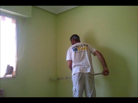 Pintar habitacion plastico color verde pinturas urbano - Como pintar una habitacion ...