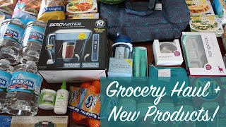 Large Family Grocery Haul: Meijer Haul, ZeroWater + LOTS of New Products! (Food Haul Around $100)