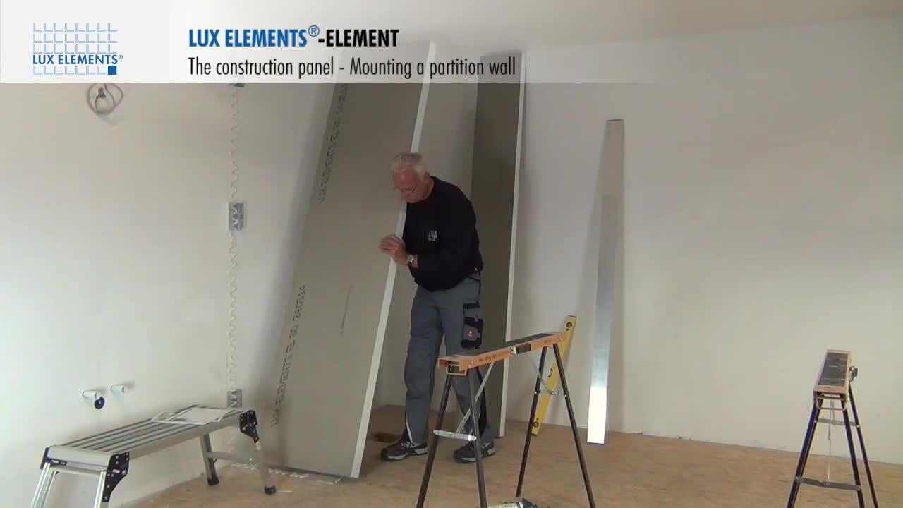 Etagere En Inox Ikea Lux Elements Installation: The Construction Panel Element
