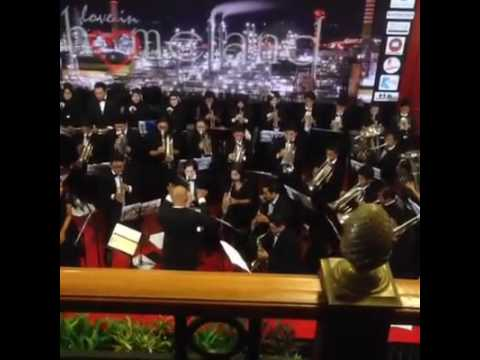 City Of Balikpapan Orchestra 2016 - Final Countdown, The Phantom Of The Opera & Cinema Paradiso