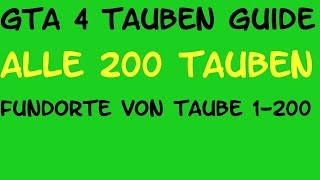 GTA 4 Guide - Alle 200 Tauben / fliegende Ratten erledigen (1-200) (Fundorte) - Deutscher Kommentar