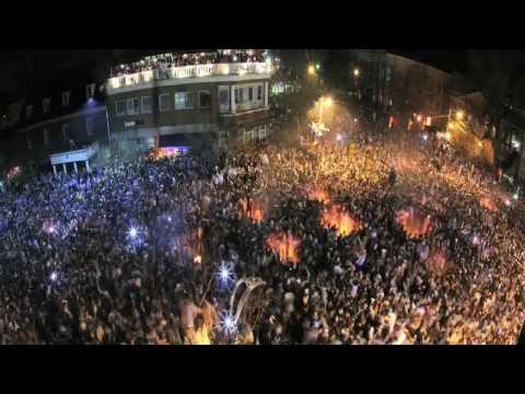 Timelapse: Franklin Street after the victory