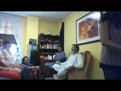 Guruji Arun discussed PranaShakthi Intro Level1 6.11.16