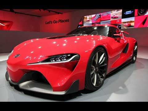 2017 Toyota Supra FT1 Concept - Full Reviews - YouTube