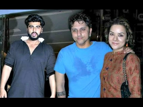 Half Grilfriend - Arjun Kapoor, Mohit Suri And Udita Goswami Snapped Together
