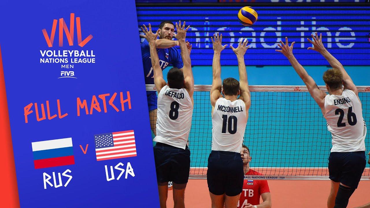 Download Russia v USA - Full Match - Final Round Pool B   Men's VNL 2018