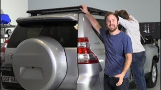 This is how easy it is to install a Roof Rack from Adventure Kings and get a fantastic result!