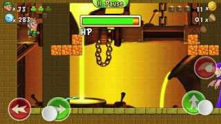 Lep's World 2, Castle, Level 8-8 +BOSS walkthrough with all 3 Gold Pots (Android and iOS game app)