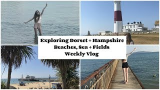 Holiday Weekly Vlog: Exploring Dorset, Heatwaves, Bouremouth, Beaches + More