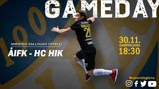ÅIFK-HC HIK, 30.11.2018