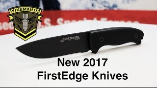 New 2017 FirstEdge Knives