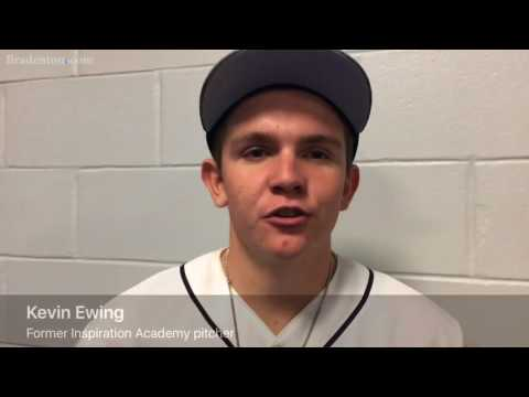Inspiration Academy alum Kevin Ewing throws out Rays first pitch