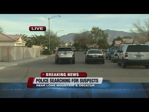 UPDATE: Car towed from area of police activity in North Las Vegas