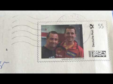 stoni Timo Boll Briefmarke
