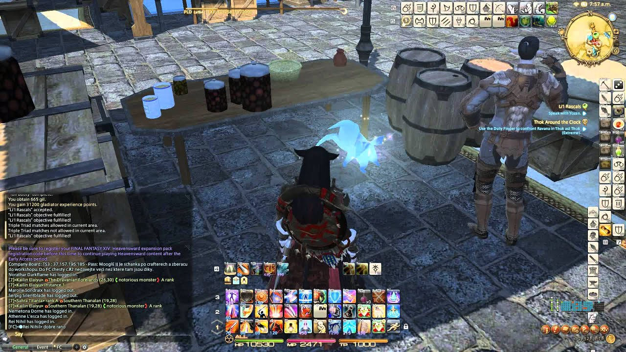 FFXIV: ARR - Unexpected Carbuncle in Mor Dhona