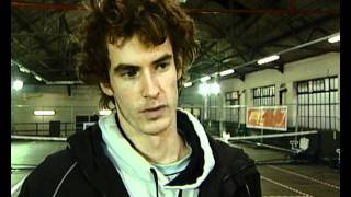 Early interview with Andy Murray on his tennis ambitions