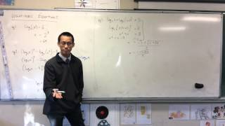 Solving Log Equations w/ Extraneous Solutions (Example 1 of 2)