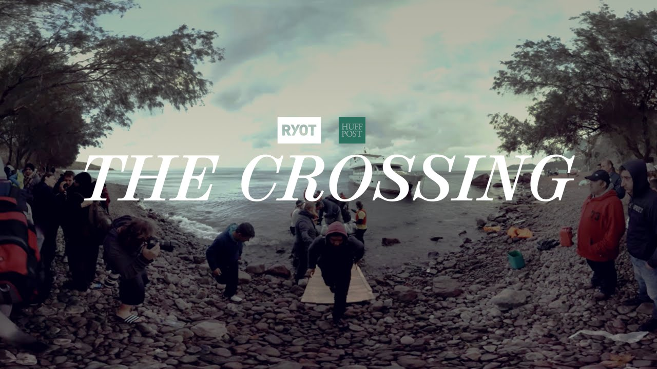 The Crossing A 360o Look Into Journey Of Refugees To Greece