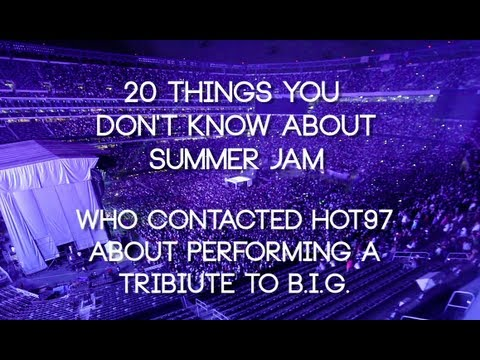 Who Contacted Hot97 about doing a Tribute Performance for BIG at Summer Jam?