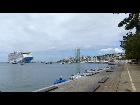 Martinique - Visite de Fort-de-France