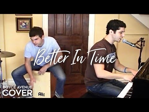 Better In Time - Leona Lewis (Boyce Avenue acoustic cover) on Spotify & Apple