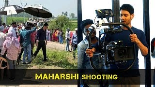 Maharshi Shooting On Location Visuals Mahesh Babu Pooja Hegde Vamsi Paidipally Friday Poster