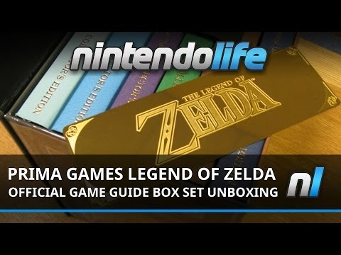 Prima Games Legend Of Zelda Strategy Guide Box Set Unboxing