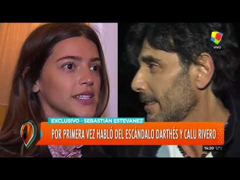 Sebastián Estevanéz habló por primera vez del escándalo Dathés / Calu