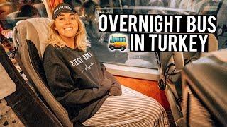 Overnight Bus in Turkey - 12 hour Bus Cappadocia to Istanbul