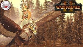 Everqueen vs Fallen King - Total War Warhammer 2 - Online Battle 162