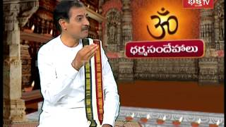 Why should we pray first Lord Ganapathi | Dharma sandehalu - Episode 392_Part 2