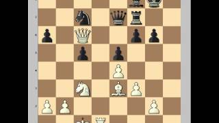 Chess Tactics: Creeping move: Spassky vs Korchnoi