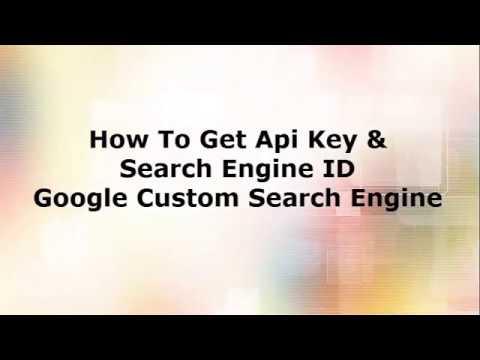How To Get Google Api Key & Search Engine ID Google CSE