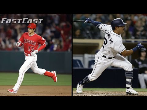 MLB.com FastCast: Ohtani hits first career HR - 4/3/18