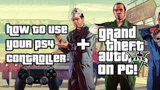 How to play GTA V on pc with a PS2/PS3/PS4 controller! [Easy & Fast]