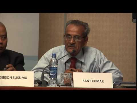 Side Event - Sant Kumar on Small-islands Economies