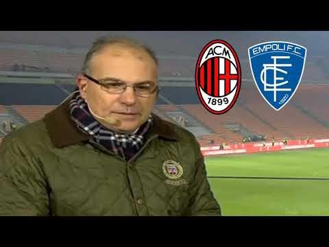 SUMA FURIA GIACOMELLI POI IMPAZZISCE AI GOL - Milan Empoli 3-0