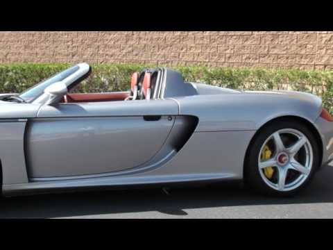2004 Porsche Carrera Gt Youtube