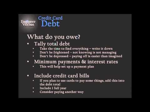 EVS Credit Card Debt